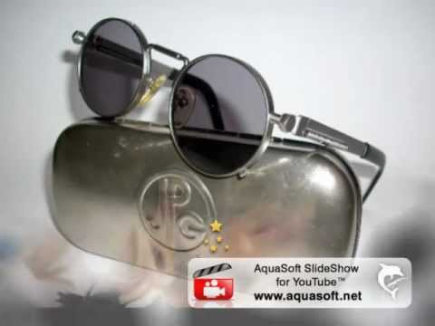 99ee7ce3c4b JEAN PAUL GAULTIER VINTAGE LADY GAGA SUNGLASSES-MOD. 56-8171 - YouTube