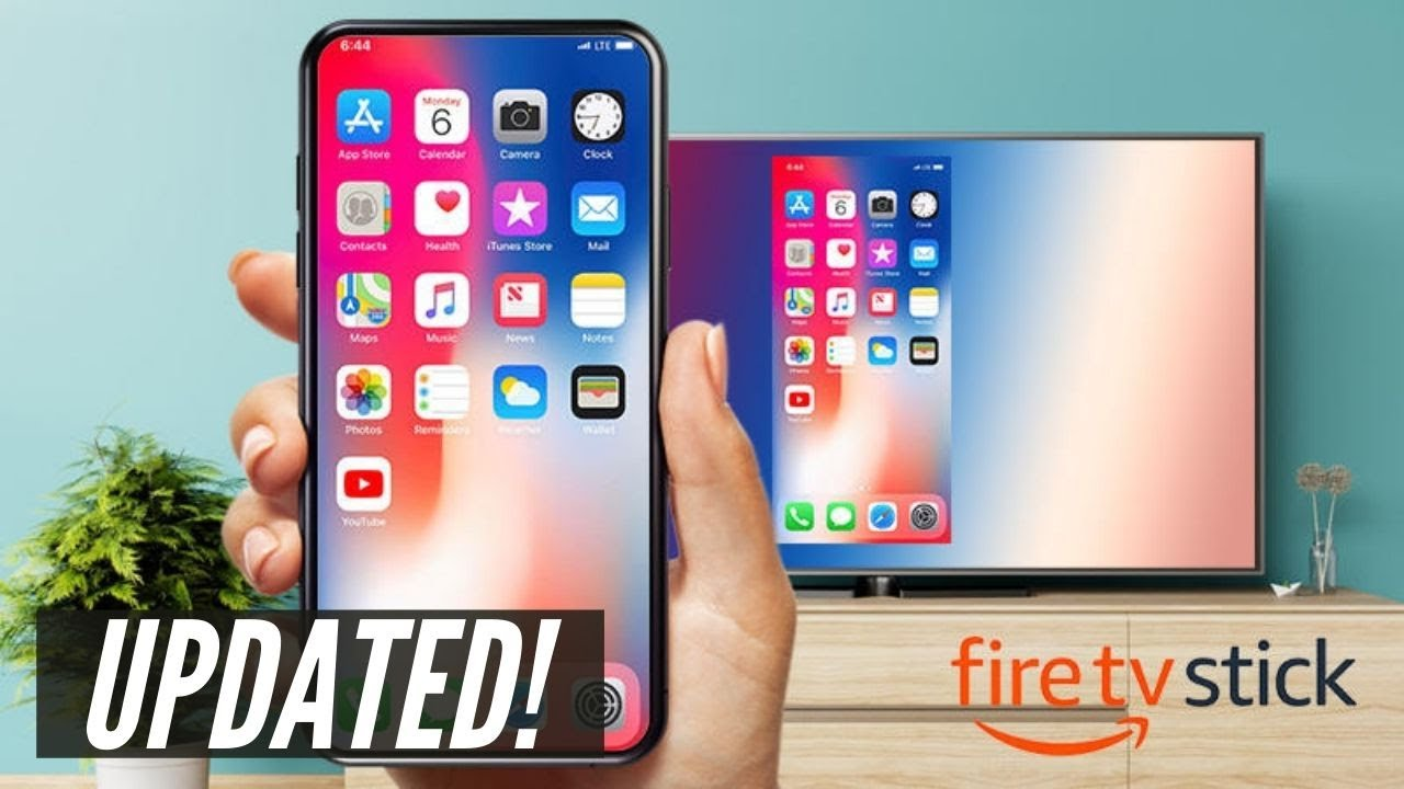 How To Mirror iPhone to Firestick (UPDATED!)
