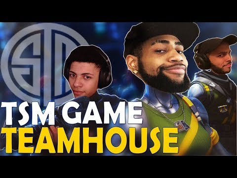 TSM PLAYS TOGETHER FROM THE TSM HOUSE | FUNNY GAME - (Fortnite Battle Royale)