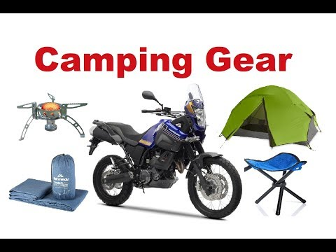 Motorcycle Camping Gear - what you really need? - fixed audio