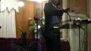 Rev. Derrick Jenkins Wednesday night live