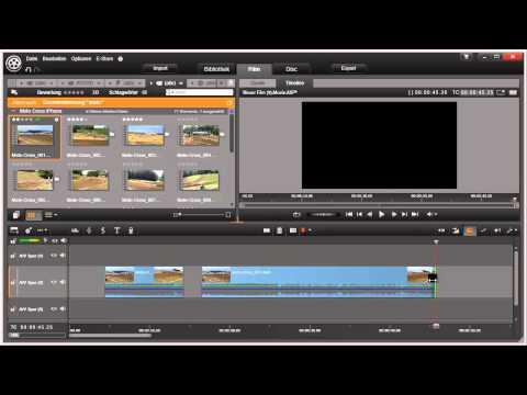 Schneiden und Trimmen in Pinnacle Studio 16 und 17 Video 39 von 114