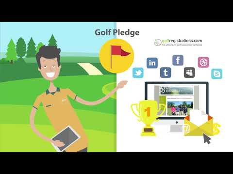 GolfRegistrations Software Overview