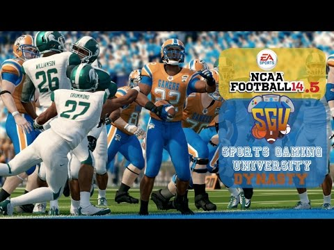 NCAA Football 14.5: Sports Gaming University Gamers – EP4 (Week 4 vs #16 Michigan State)