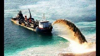 荷兰,日本,迪拜都在填海造陆,中国却一出手就造了一个世界第一