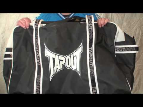 TapouT Armory Large Black-White Hockey-Bag