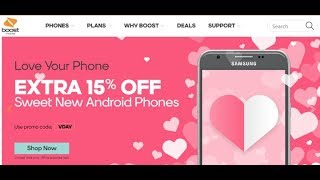 Boost Mobile Valentine's Day Promotion – Extra 15% off Android Phones
