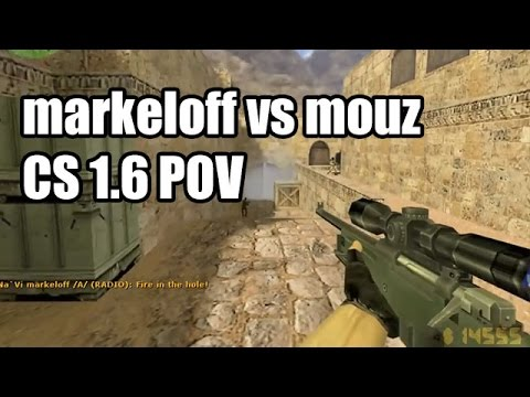 POV: markeloff vs. mousesports @Arbalet CS 1.6 Demo