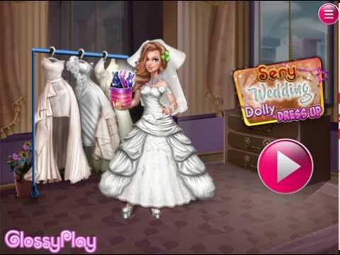 Мультик игра Свадебная одевалка (Sery Wedding Dolly Dress up)