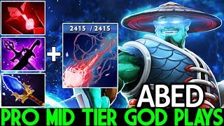 ABED [Storm Spirit] Pro Mid Tier God Fountain Camp Pub Game 7.22 Dota 2