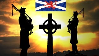ABIDE WITH ME ~Pipes & Drums Royal Scots Dragoon Guards.