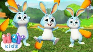 Uyuyan Küçük Tavşanlar 🐰 Çoçuk Şarkıları Dinle - HeyKids