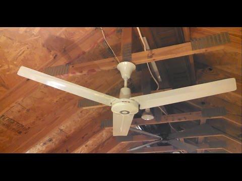 Leading Edge Quot Ring Fan Quot Hi Tech Ii 56 Ceiling Fan C 1981