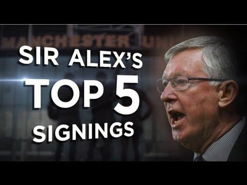 Sir Alex's Top 5 Signings