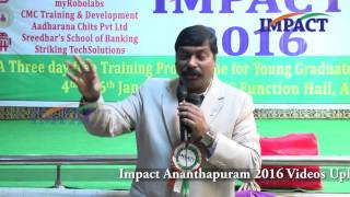 Purpose of Life by Gampa Nageshwer Rao at IMPACT