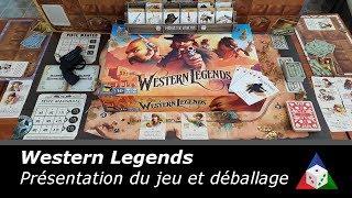 Western Legends - Présentation du jeu et déballage