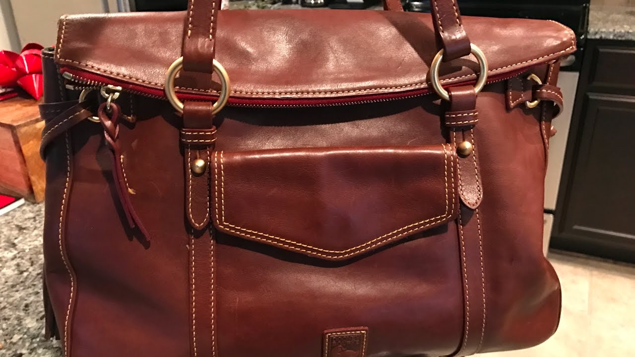 Part 2 Dooney Bourke Floine Smith Bag Reveal