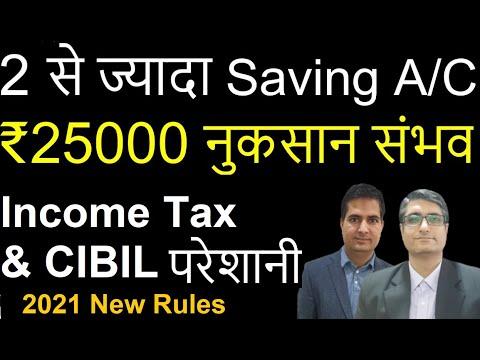 Saving Bank Account कितने रख सकते है   Disadvantages of multiple Saving bank accounts