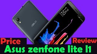 Asus Zenfone Lite L1 reviews with budget price phone - Asus Cheapest phone under 7K
