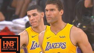 LA Lakers vs Chicago Bulls 1st Qtr Highlights / Week 6 / 2017 NBA Season