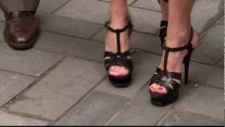 Video Amy Robach & Natalie Morales - sexy stiletto high heels & legs close up - HOT download MP3, 3GP, MP4, WEBM, AVI, FLV Agustus 2018