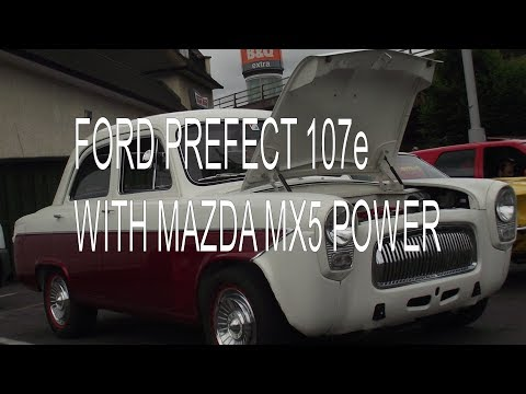 Ford Prefect 107e With Mazda MX5 Engine And Reverse Mounted Bonnet.