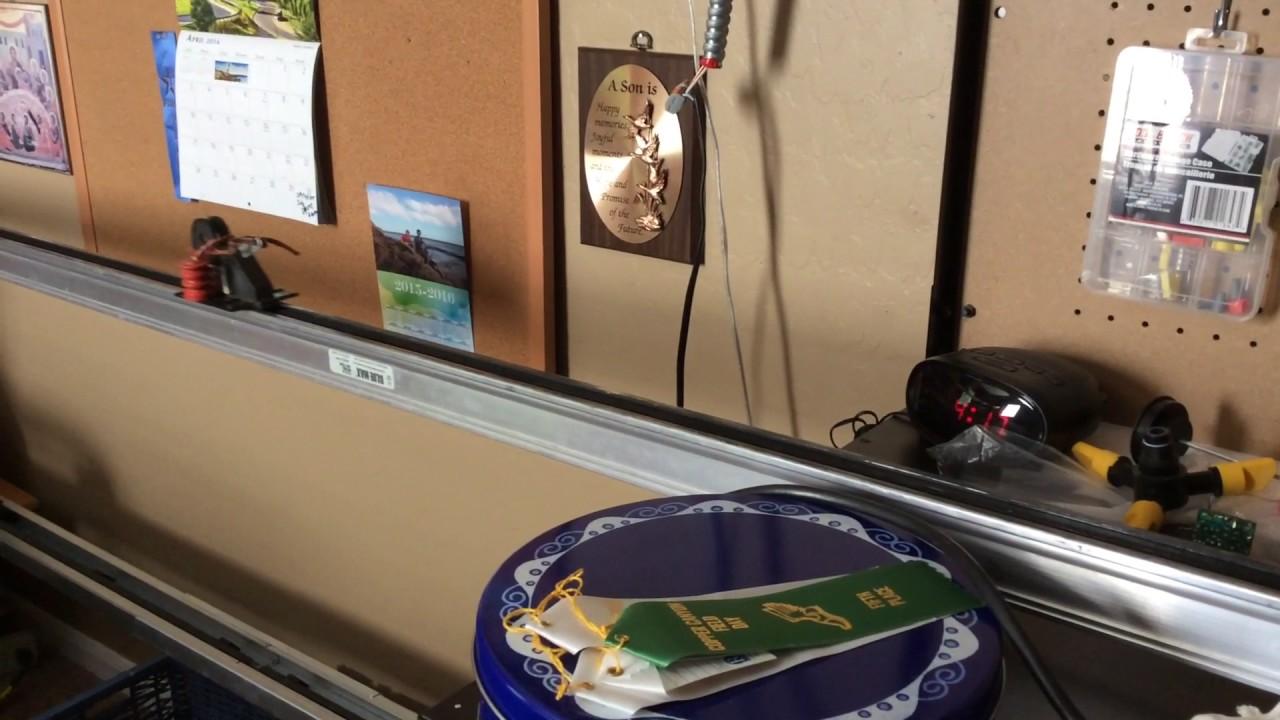 Genie Blue Max Cm 7500 1 3 Hp No Safety Sensor Garage Door