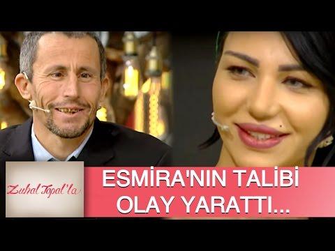 Zuhal Topal'la 85. Bölüm (HD) | Esmira'nın Yeni Talibi Olay Yarattı!