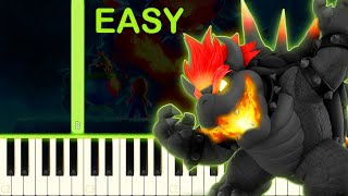 BOWSER´S FURY - EASY Piano Tutorial