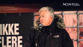 NOAHs Fakkeltog mot pels 2014: Brita Møystad Engseth