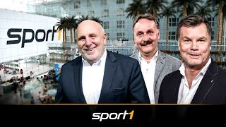 Ganze Folge CHECK24 Doppelpass mit Dieter Hoeneß und Peter Neururer | SPORT1