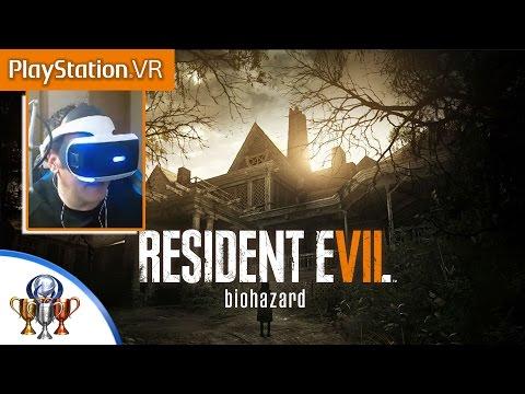 Resident Evil 7 Teaser - Beginning Hour PSVR Demo Playthrough - New VR Update Stream (True Ending)