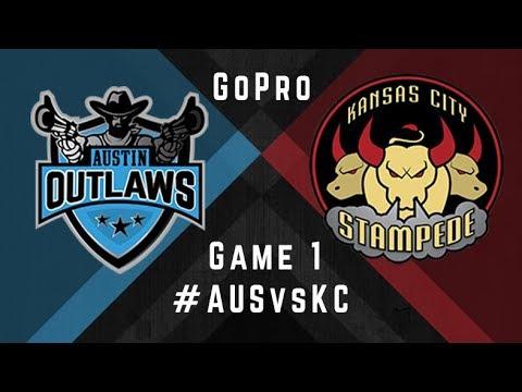 Austin Outlaws v Kansas City Stampede - GoPro - Game 1, 2017 MLQ Regular Season
