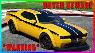 WARNING! The One Thing You NEED to Know Before Purchasing The Gauntlet Hellfire In GTA 5 Online!
