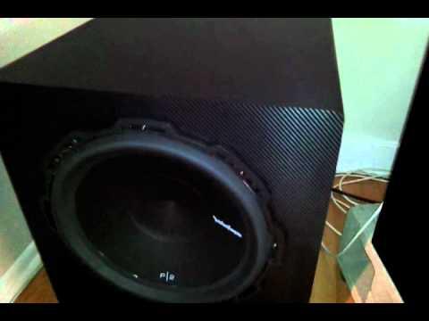 How To Build A Sub Box >> 3d carbon vinyl wrap home sub diy - YouTube
