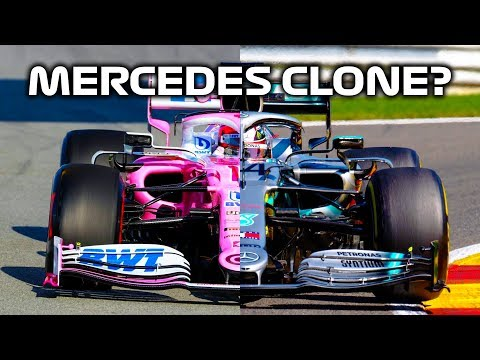 Why Does The 2020 Racing Point Look Like The 2019 Mercedes?