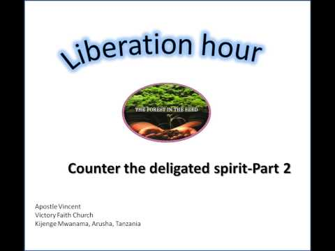 Liberation hour-Apostle Vincent on Counter the Delegated spirit Part 2
