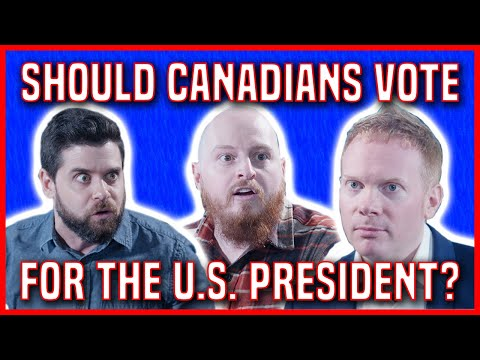 Should Canadians Vote For The U.S. President?