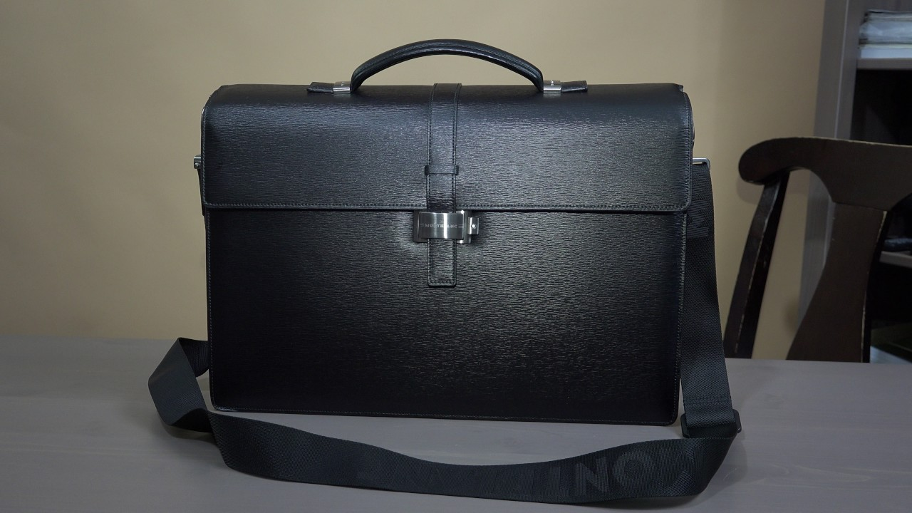 My Luxurious Mont Blanc Collection Episode 2 Montblanc Briefcase