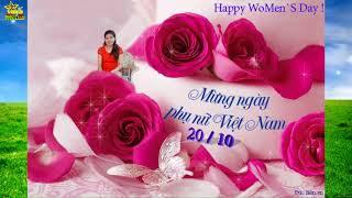 Chúc Mừng Ngày Phụ Nữ việt Nam 20 10