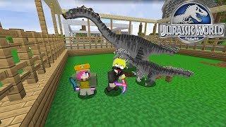 Minecraft Jurassic World Tập 13: Therizinosaurus Móng tay nhọn  dễ thương quá