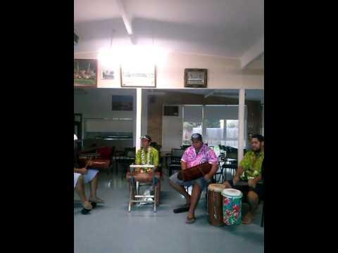 Cook island drumming (S.O.P BOIZ)