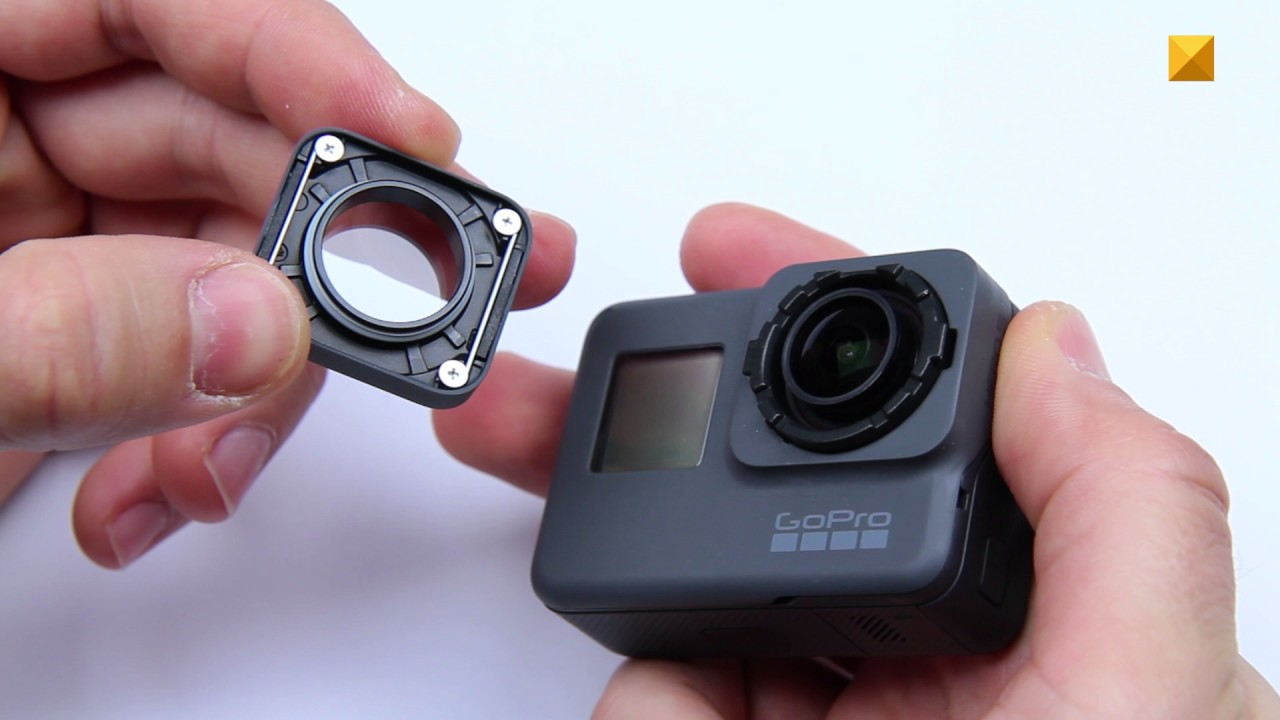 Gopro Replacement Lenses : Front protective lens removal and replacement gopro