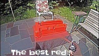 How to Spray Paint your Valve Cover (Wrinkle Red)