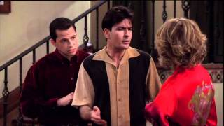 """Two and a half men - We don't use the """"M"""" word around here"""