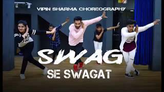 Swag Se Swagat Song Dance Choreography| Tiger Zinda Hai | Salman Khan| Vipin Sharma| UniqueDanceCrew