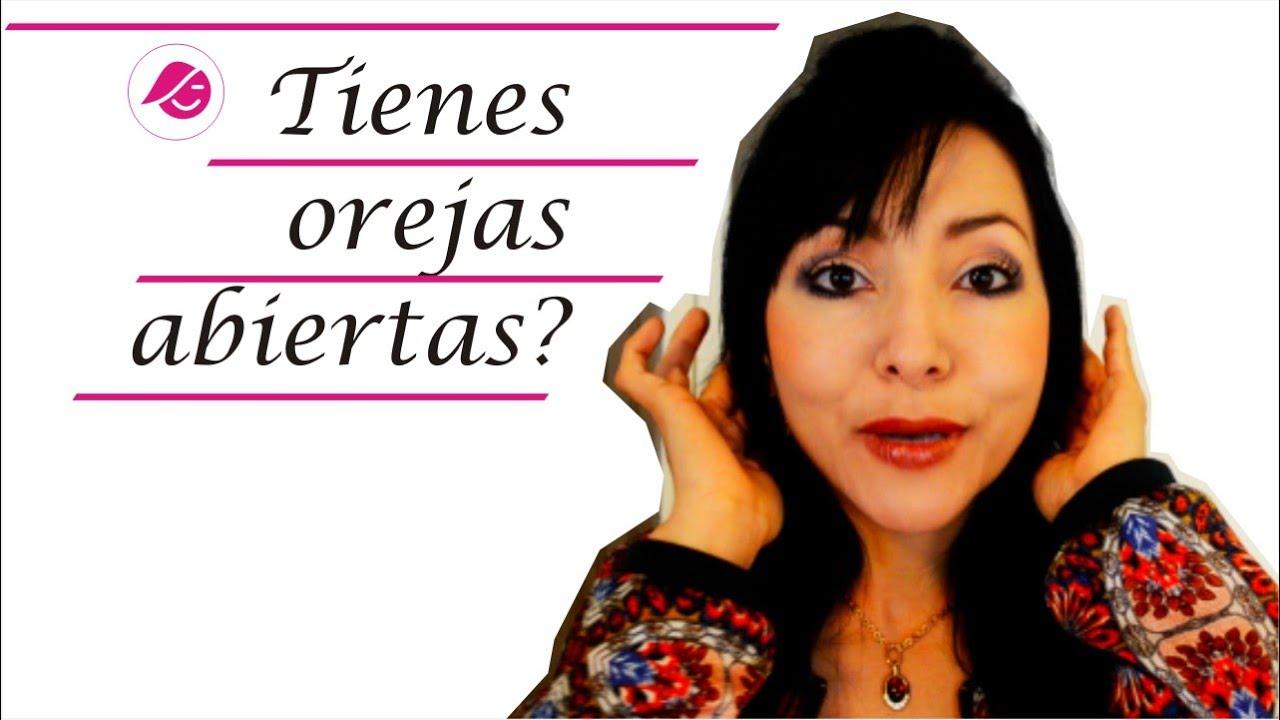 Peinados Para Mujeres Con Orejas Abiertas Clo Youtube
