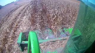 Corn Harvest 2017 - John Deere 9400 combine