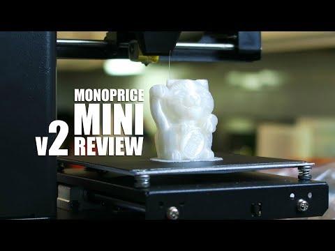 Monoprice Select Mini V2 Unboxing & Review: PLA, SemiFlex, Cheetah, Tech-G