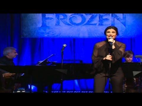 Idina Menzel Performs 'Frozen's' Hit Song 'Let it Go'